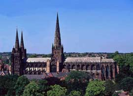 photo of Lichfield Cathedral